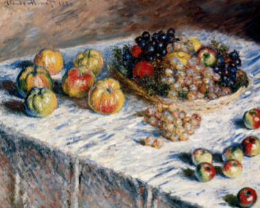 Claude Monet,Still Life with Apples and Grapes, 1880,.png